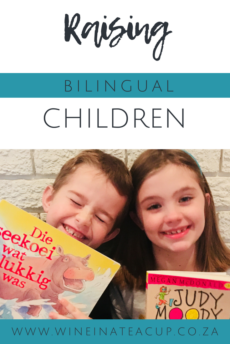 raising bilingual children. www.wineinateacup.co.za