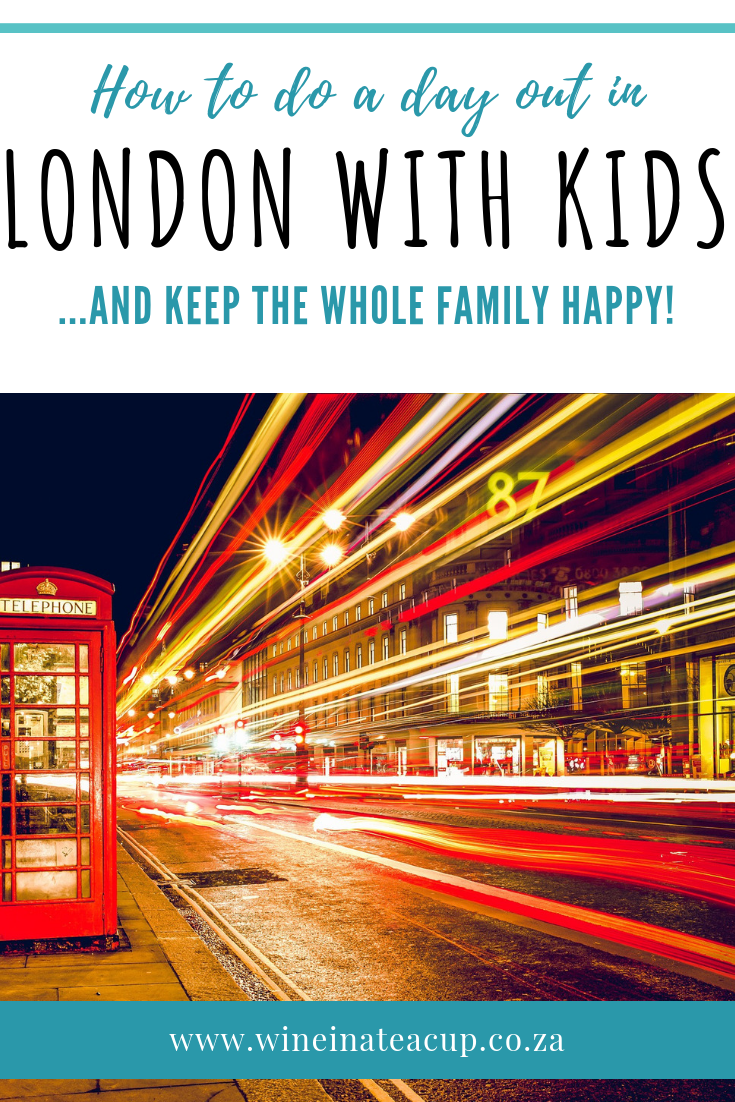How to enjoy a day out in London with kids...and keep the whole family happy. Don't stress about doing everything on the London hit-list. Pick a copy of things that will make everyone happy...get a bus, get a tube, enjoy a meal, a bit of shopping, see a few sights and you're sorted! You don't have to spend a fortune to enjoy the Big Smoke. #london # travelwithkids #dayout #familydayout #londonfamilyday