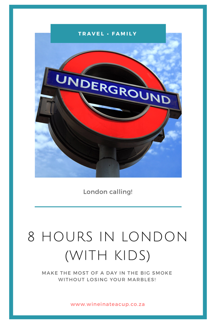 8 hours in London with kids. How to all enjoy the day without going crazy! #london #familydayout #familytravel #thingstodoinlondon