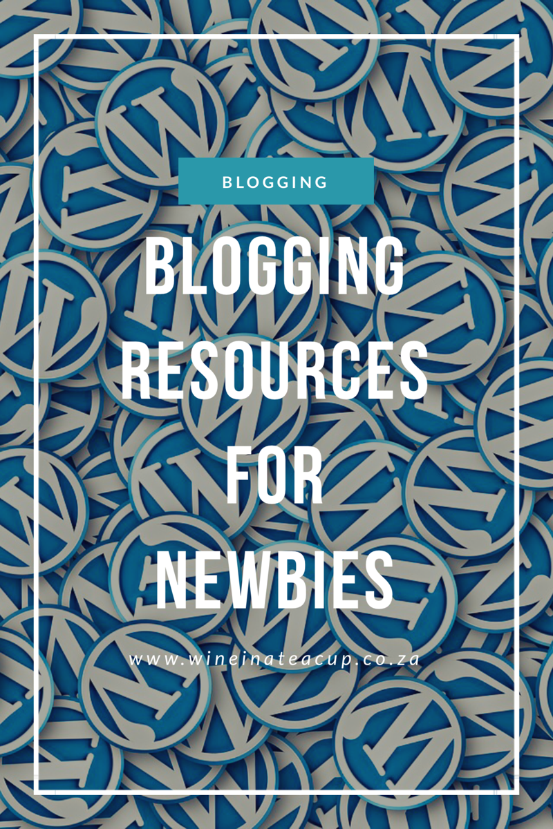 Blogging resources. www.wineinateacup.com