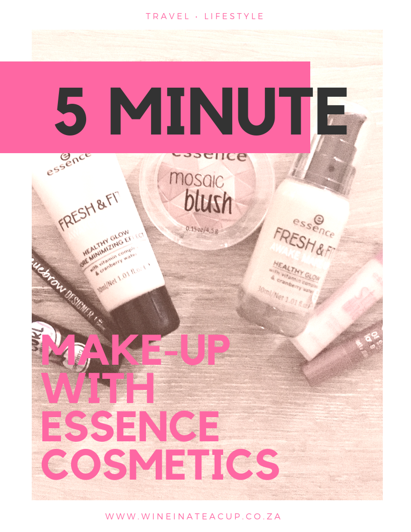 Fast and easy make-up for busy Mums. Make-up that looks great and is easy on your bank balance. 5 minute make-up using only essence cosmetics