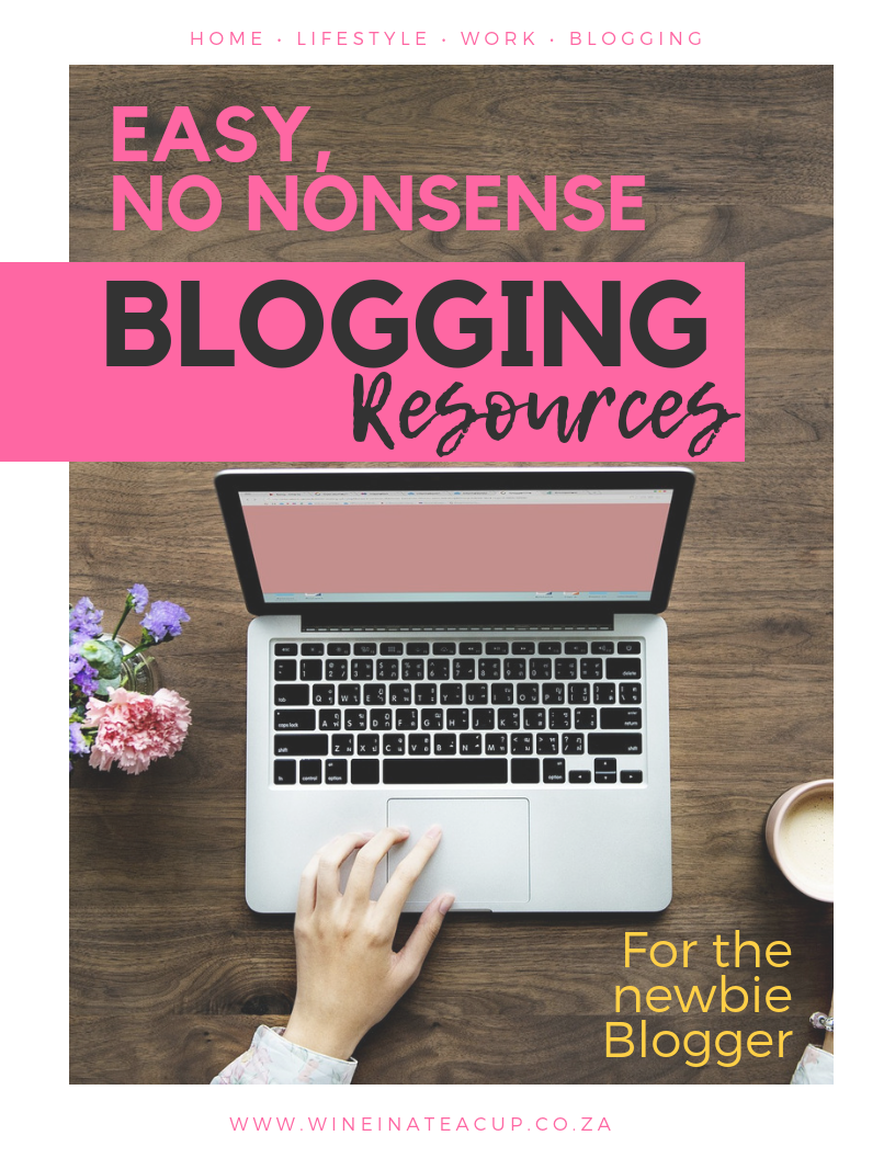 Blogging resources for new bloggers. Concise and easy to follow. No nonsense write up of all the resources you need to start your own blog!