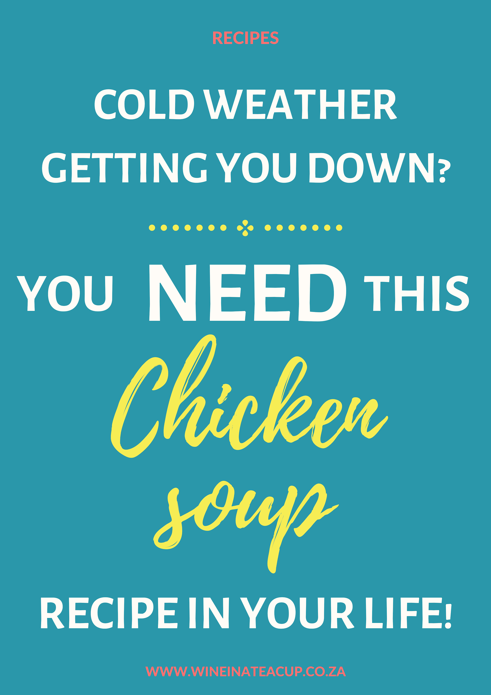 Super easy chicken soup recipe, part 2. If you are in need of a winter warmer recipe...look no further. This recipe has been in my family for years and is a trusted favourite for all of us. #soup #souprecipe #chickensoup #winterrecipes