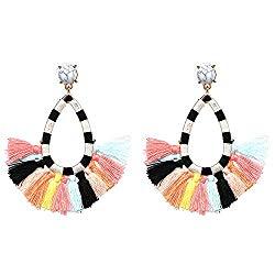 fun accessories. Bohemian Tassel earrings.