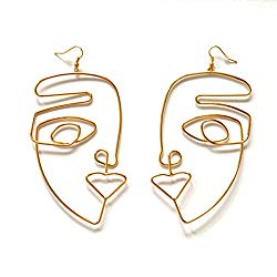 fun accessories. picasso earrings