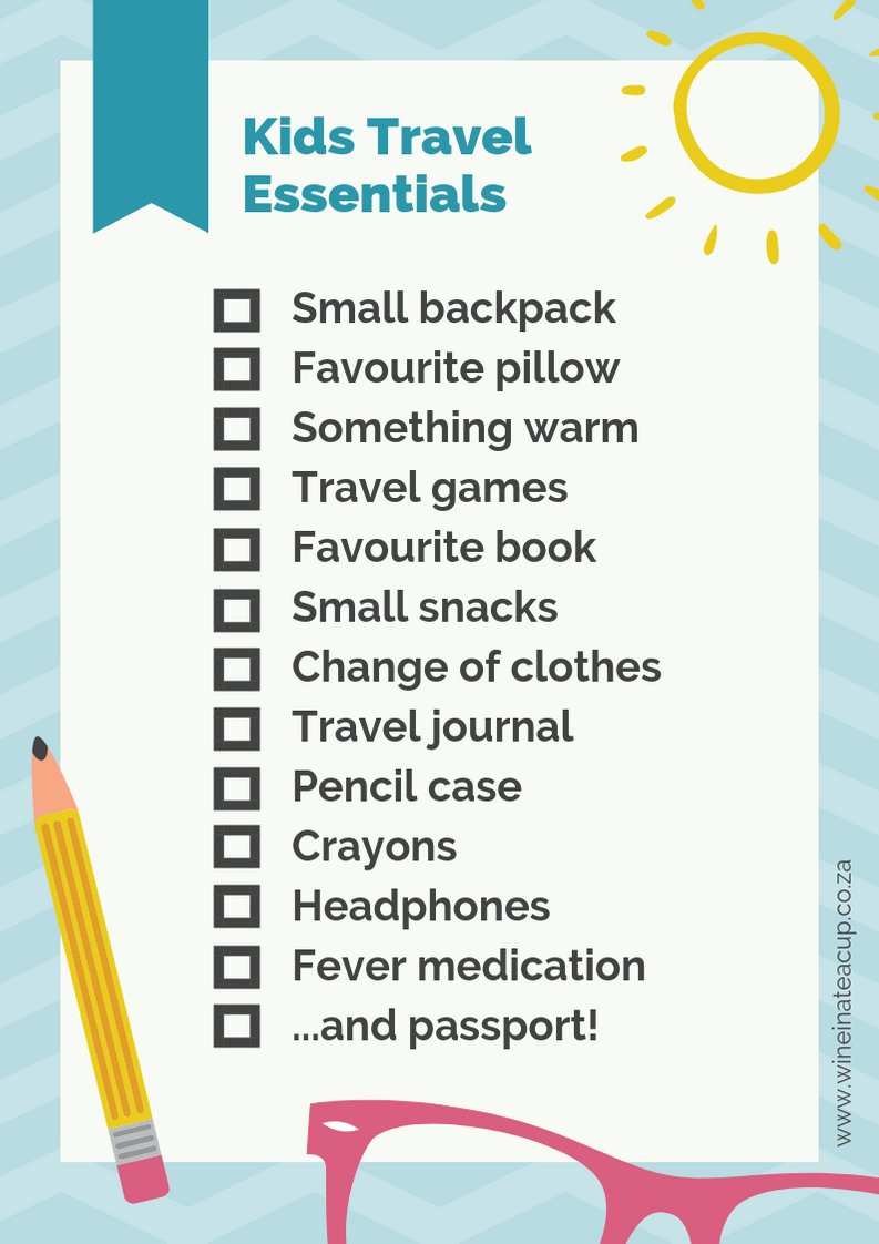 Travelling with kids. Free travel printable of handy things to take with you on your travels to make the journey easier for all involved! #freeprintable #travelchecklist