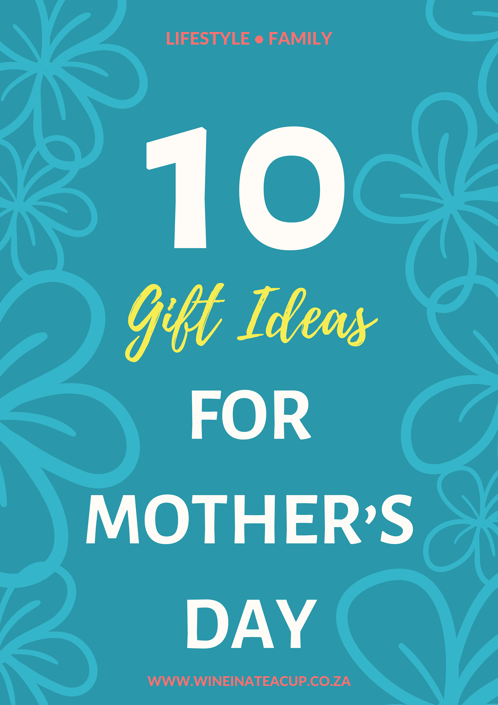 10 Gift Ideas for Mother's Day. If you're stuck for some original gifting ideas for Mom's big day, have a read of this. Get your gifting juices flowing. #gifts #gifting #mothersday #mothersdaygifts