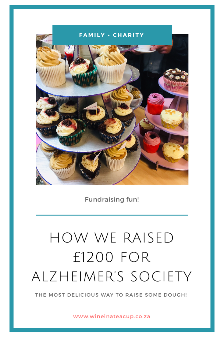 Fundraising for Alzheimer's! What an amazing proud moment to share with my sister...raising over £1200 for people living with dementia. #alzheimers #dementia #livingwithdementia